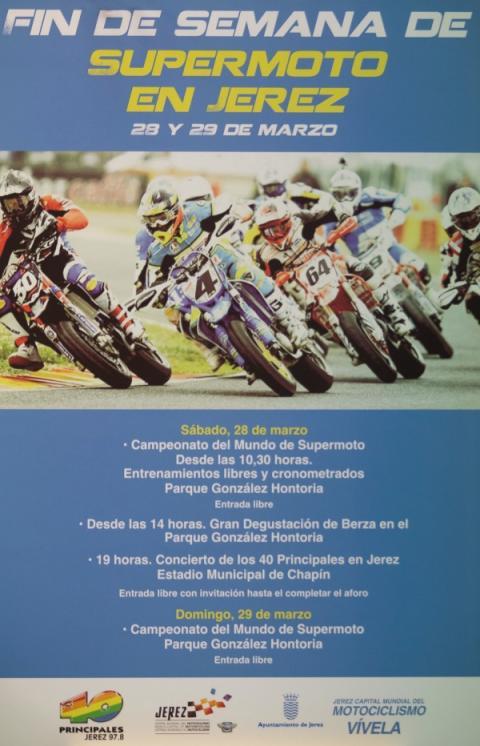 Supermoto Jerez 2015 programa