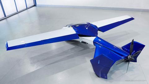AeroMobil 3.0 trasera