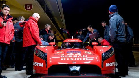 WEC: El Nissan GT-R LM Nismo debutará en Le Mans