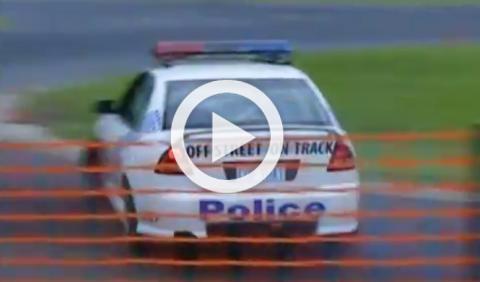 Vídeo: así hace drift la Policía australiana
