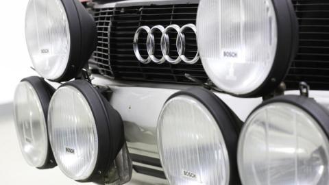 Audi Quattro A1 Grupo B 1982