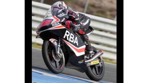 Ana Carrasco se rompe la clavícula en los test de Jerez