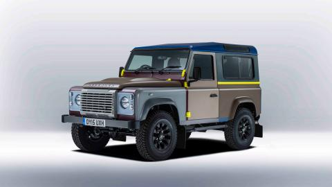Land Rover Defender de Paul Smith - delantera