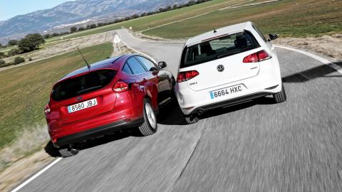 Ford Focus contra VW Golf