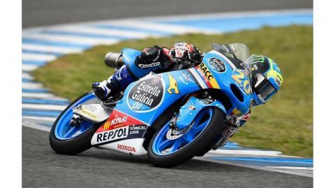 Quartararo espera luchas en el Mundial de Moto3 de 2015