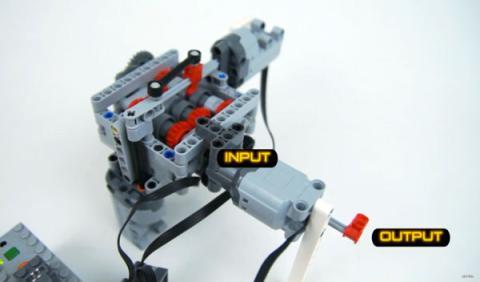 ¡Increíble! Fabrican una transmisión de 6 marchas con LEGO