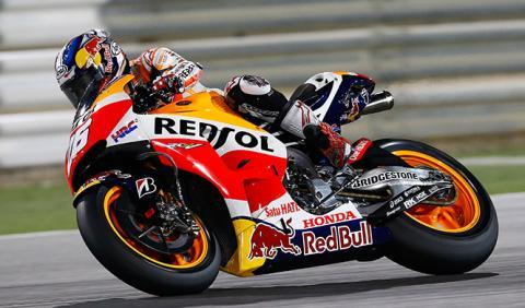Dani Pedrosa listo para el GP de Catar