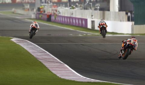 Libres 3 MotoGP GP de Qatar 2015: todos en un mismo saco