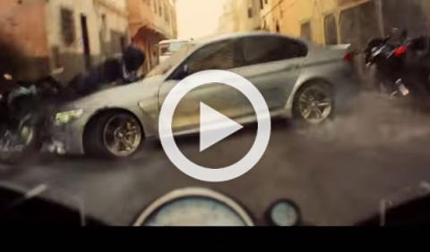 Mira lo que le pasa a un BMW M3 en 'Misión Imposible 5'