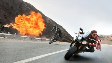 La BMW S 1000 RR, la moto de 'Misión Imposible'