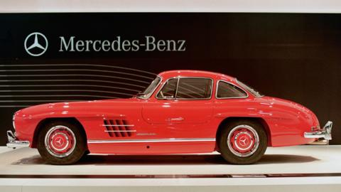 mercedes 300 sl lateral