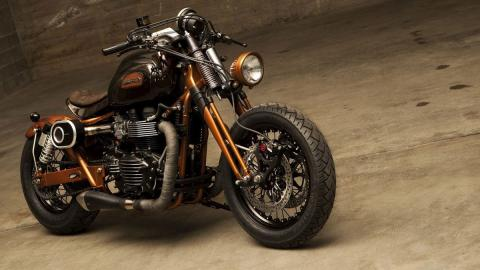 Bonneville Essentia by Officine GP Design, diseño italiano