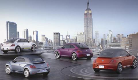 Volkswagen lanza cuatro Beetle distintos en Nueva York