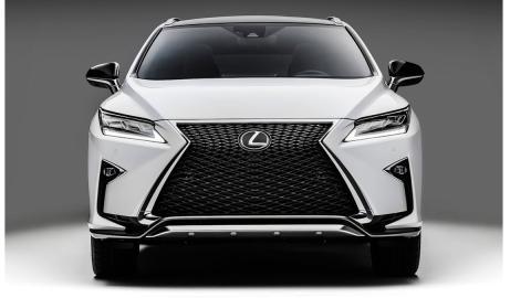 Lexus RX 2016 frontal