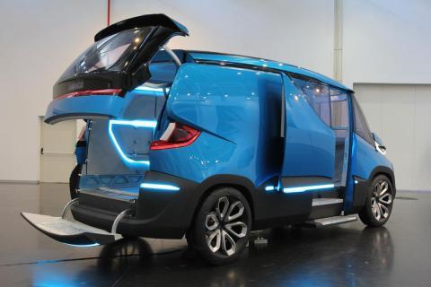 Iveco Vision, el transporte del futuro