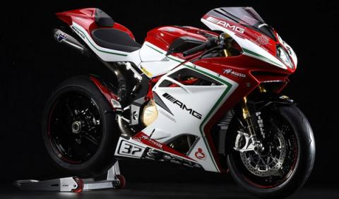 Video: MV Agusta F4 RC, todo un delicatessen