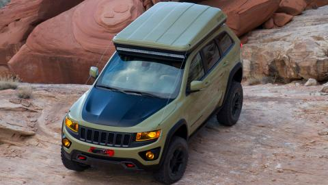 Jeep Grand Cherokee Overlander aérea