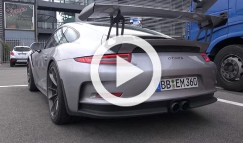 Escucha cómo suena el Porsche 911 GT3 RS, ¡brutal!