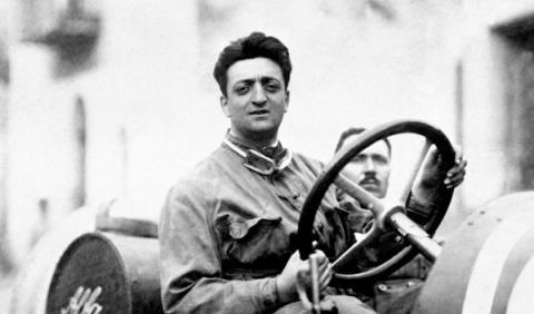 Enzo Ferrari, fundador de la marca