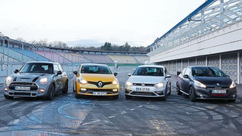 Nuevo Volkswagen Polo GTI contra sus rivales