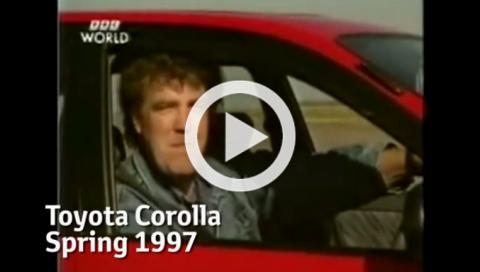 Toyota rinde homenaje a Jeremy Clarkson