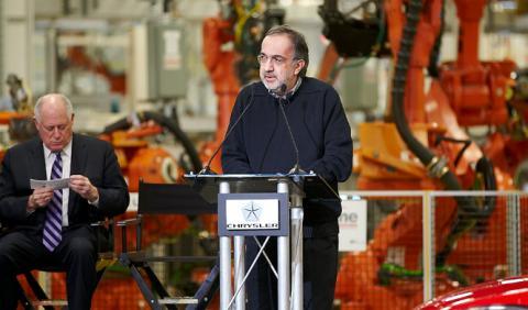 Sergio Marchionne quiere unirse a General Motors