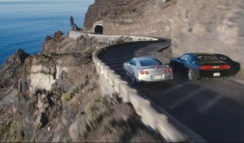 40 coches al desguace en una sola escena de Fas&Furious 7