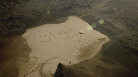 Mensaje al espacio desde Nevada