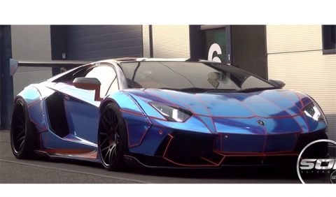 Liberty Walk 'mete mano' al Lamborghini Aventador