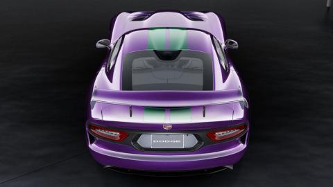 Dodge Viper GTC trasera