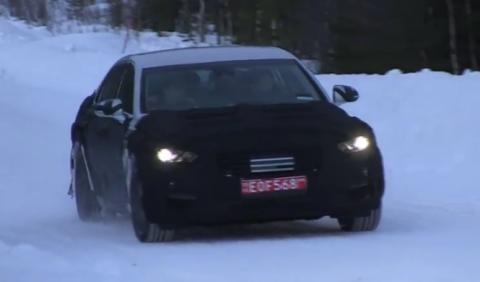 Hyundai Equus 2016, cazado en las pruebas de invierno