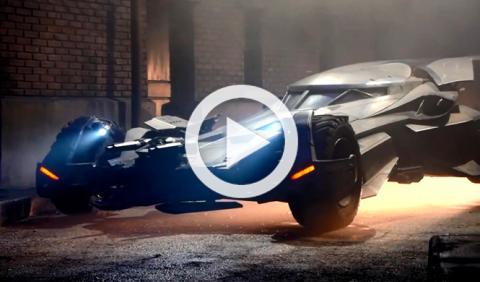 Vídeo: el nuevo Batmóvil de 'Batman vs Superman'
