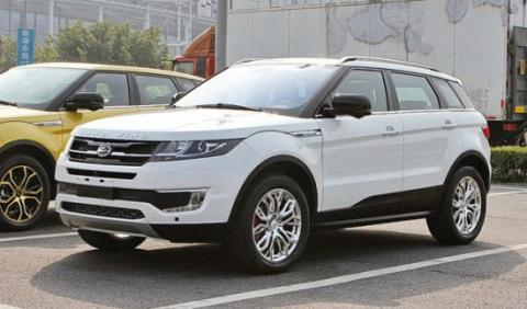 Land Rover no denunciará la copia china del Evoque