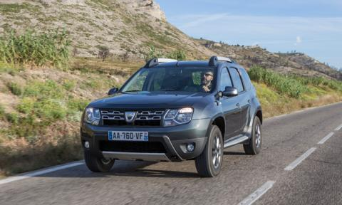 Dacia Duster 2013 frontal