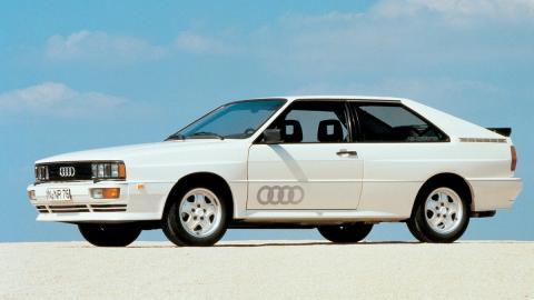 Audi Quattro lateral