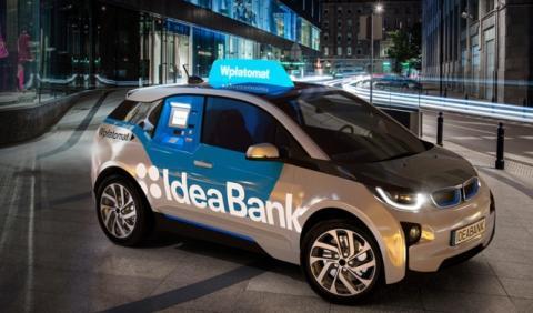 Un banco polaco convierte un BMW i3 en un cajero automático
