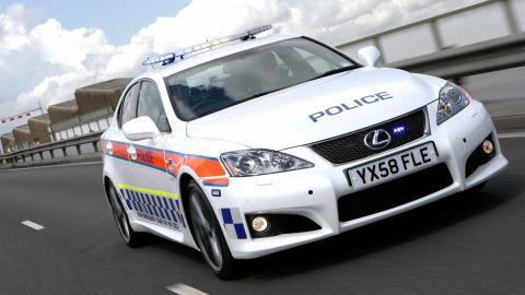 coches policia más rapidos isf