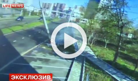 ¡Brutal! Accidente de un Nissan GT-R a 170 km/h en Rusia