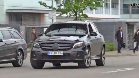 Mercedes GLC frontal