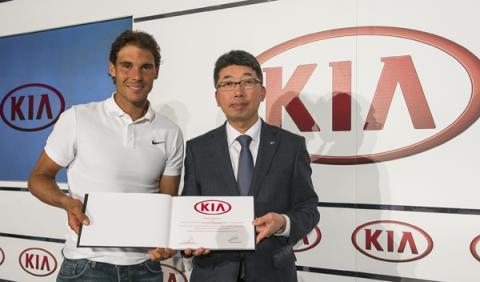 Rafa Nadal y Kia amplían su noviazgo cinco años