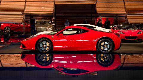 Ferrari 458 Speciale Salón de Barcelona 2015