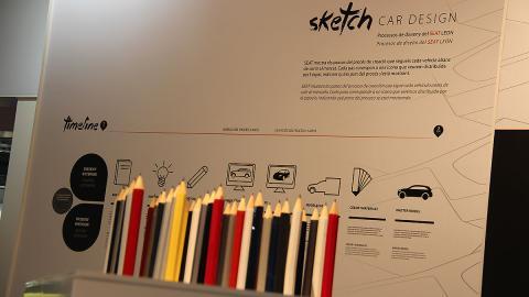 Sketch Car Design en el Salón de Barcelona 2015