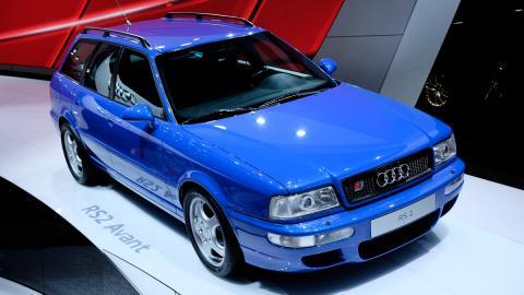 Audi RS 2 Avant delantera