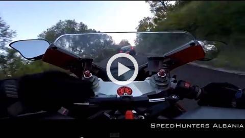Vídeo: Nissan GT-R vs. Ducati 484 EVO