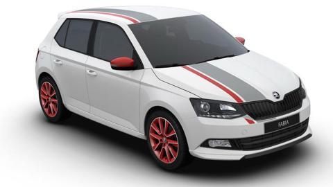 Skoda Fabia Red & Grey Plus, para Wörthesee