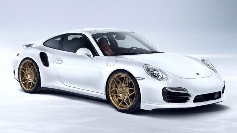 porsche 911 Turbo by Prototyp Production tres cuartos delantero