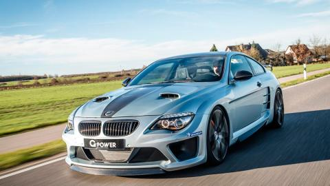 BMW M6 G-Power delantera