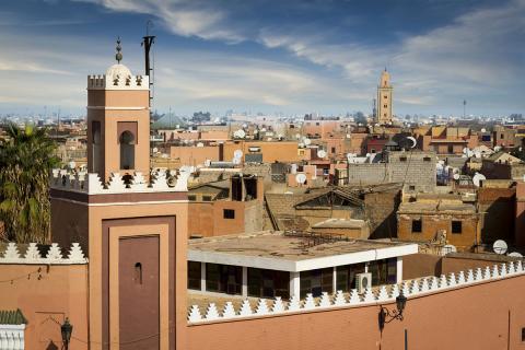 Marrakech, en Marruecos
