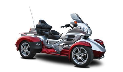 Una Honda Goldwing convertida en quad
