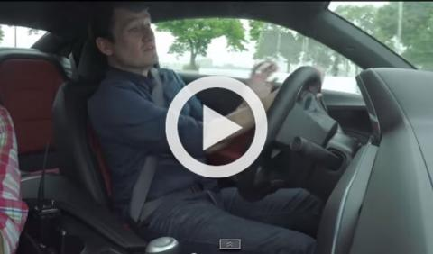 Estrellan el nuevo Camaro 2016 en un test de prensa